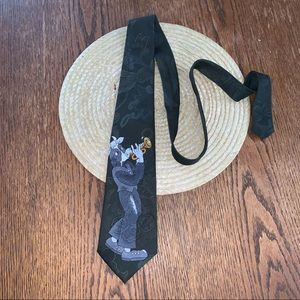 City One Cow Swag With Trumpet Fun Dress Tie